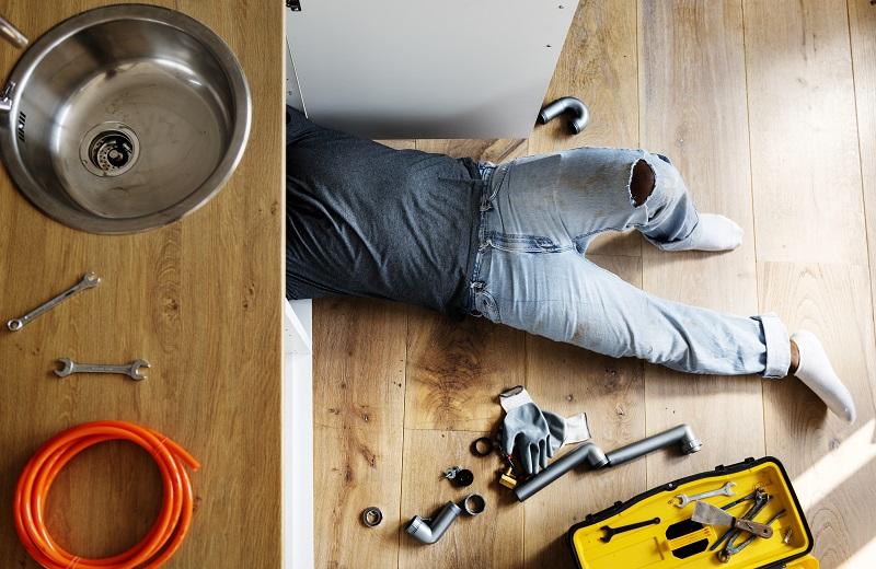 Illustration Le métier d'artisan plombier à la Réunion